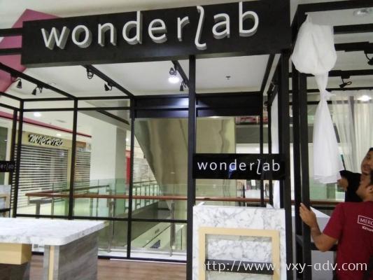 Wonderlab Acrylic Signage