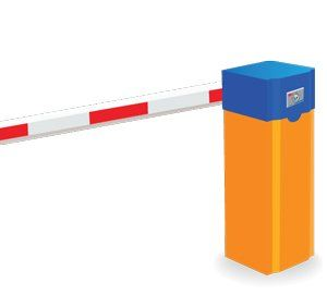 BR560.MAG Straight Arm Barrier Gate