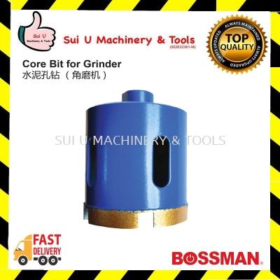 BOSSMAN Core Bit for Grinder M10 Shank 16~50mm Diameter
