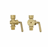 PRESSURE GAUGE HOLDER VALVES WITH STUFFING BOX