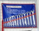 King Toyo 14pcs Combination Wrench Set(8-24mm) Automotive