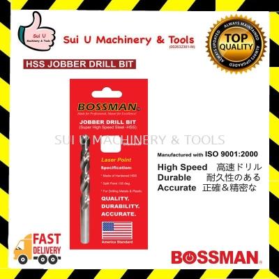 BOSSMAN HSS Jobber Drill Bit Super High Speed Steel size 1.5~13.0