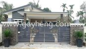 Stainless Steel Gate  白钢篱笆门 Stainless Steel Gate Household Products