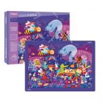 MD3095 Mideer Captain Bear's Costume Party Puzzle 500 Pcs