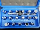 """17pcs Plug Key + 3/8"""" Dr. T- Handle Automotive"""