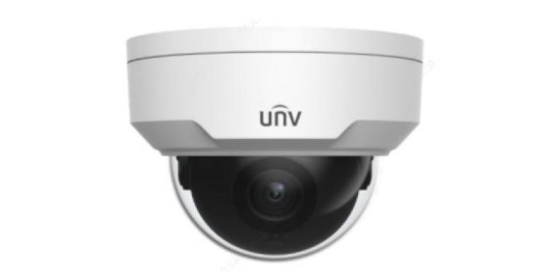 4K VANDAL-RESISTANT NETWORK IR FIXED DOME CAMERA 8MP