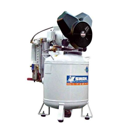 SWAN Air Compressor PV202-50D: 2HP, 8Bar, FAD100L/min, 1phase