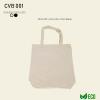 CVB 001 Natural Beige Canvas Bag 001