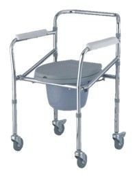 Mobile Commode Chair MO 696