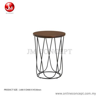 JM Concept Quarry 80 Coffee Table Metal Design (Small)