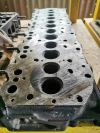 NISSAN UD NU T5 CYLINDER HEAD (USED) NISSAN CYLINDER HEAD NISSAN Lorry Spare Parts