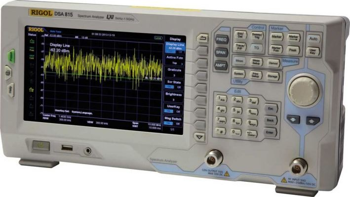 Rigol DSA815 Spectrum Analyzer 1.5 GHz