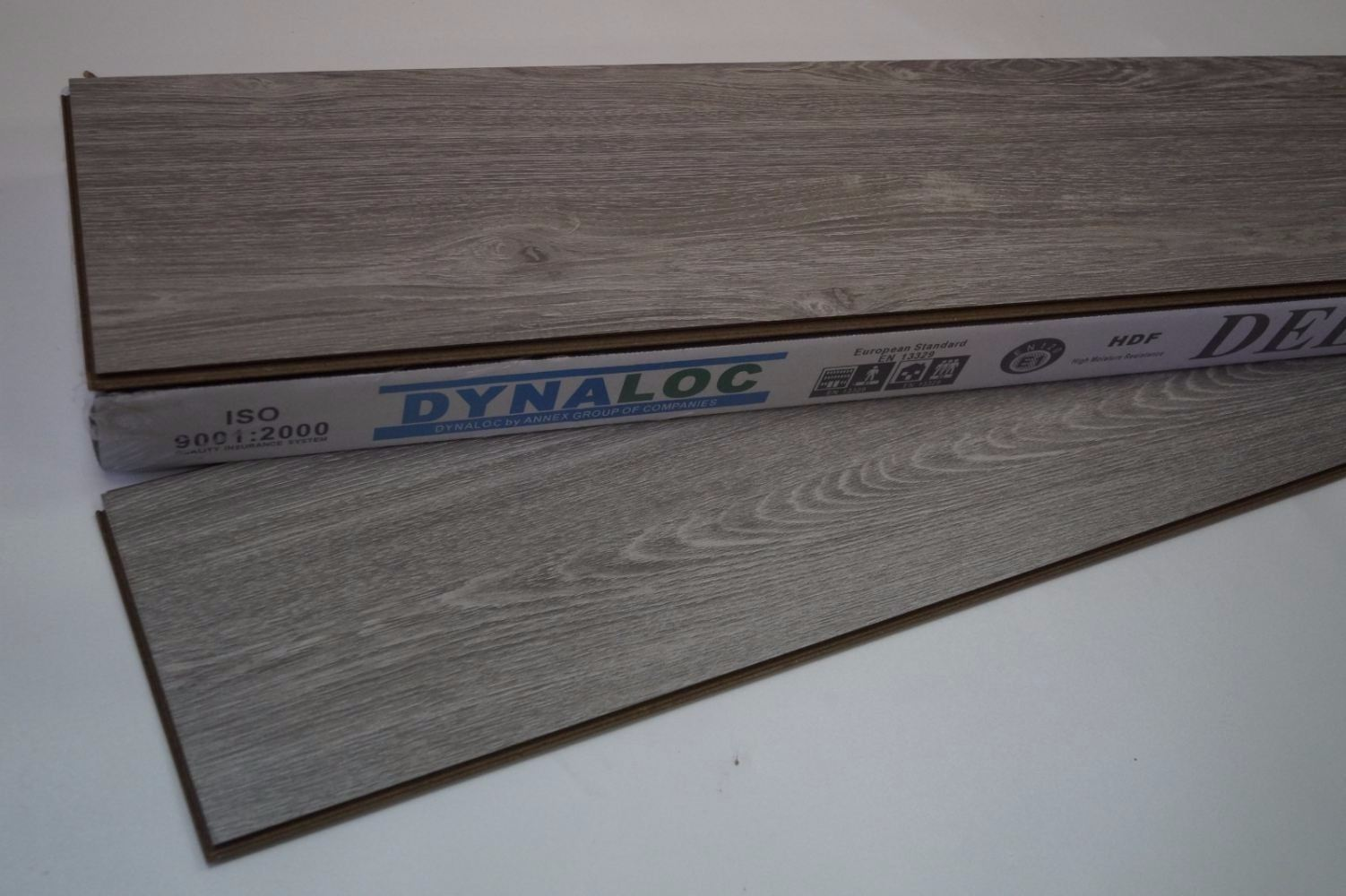 (D-8050) Laminate Flooring 8mm - Classic Grey