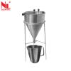 Flow Cone Apparatus (ASTM) - NL 3004 X / 003 Cement & Mortar Testing Equipments