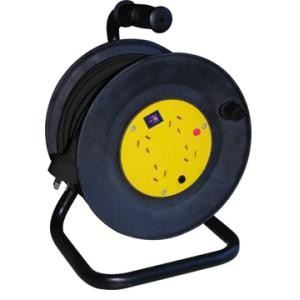 4 Way Industrial Cable Reel - Australian Standard - 230V x 15M (TMET8013015A)