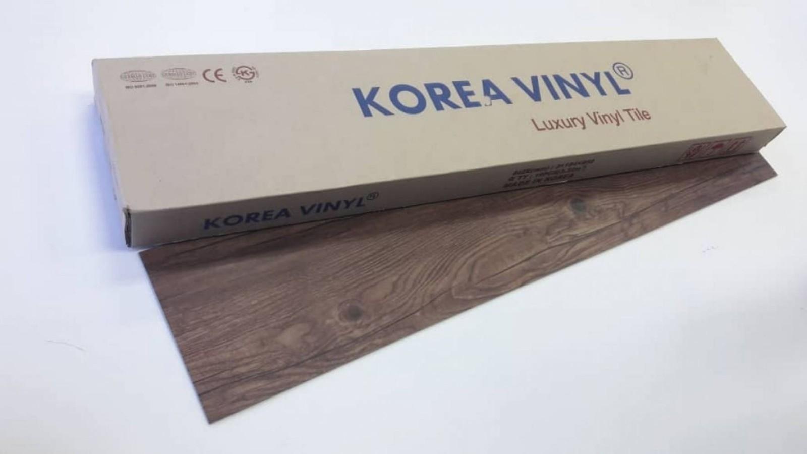 (KV-1902) Korea Luxury Vinyl Flooring 3mm - Rustic Barnwood