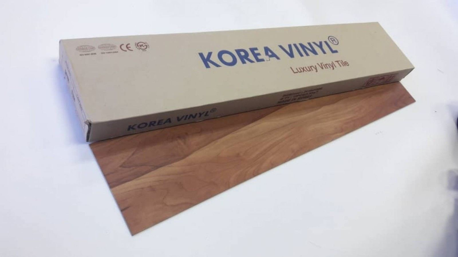 (KV-1921) Korea Luxury Vinyl Flooring 3mm - Cinnamon Cherry