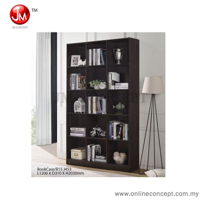 JM Concept Destiny Book Shelf / File Cabinet / Multi Function Storage (15 Grids)