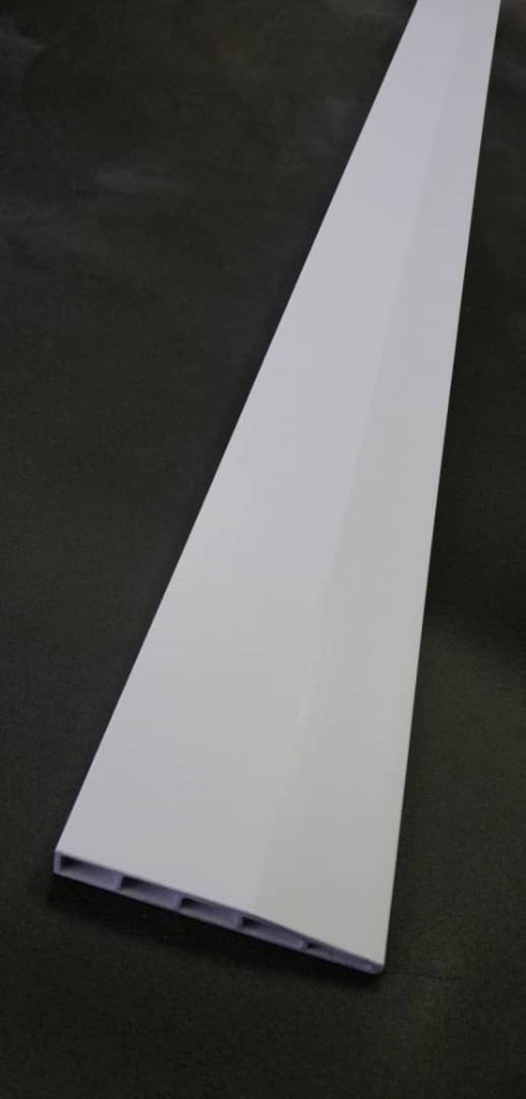 (PSK100-1012) 100mm PVC Skirting - White