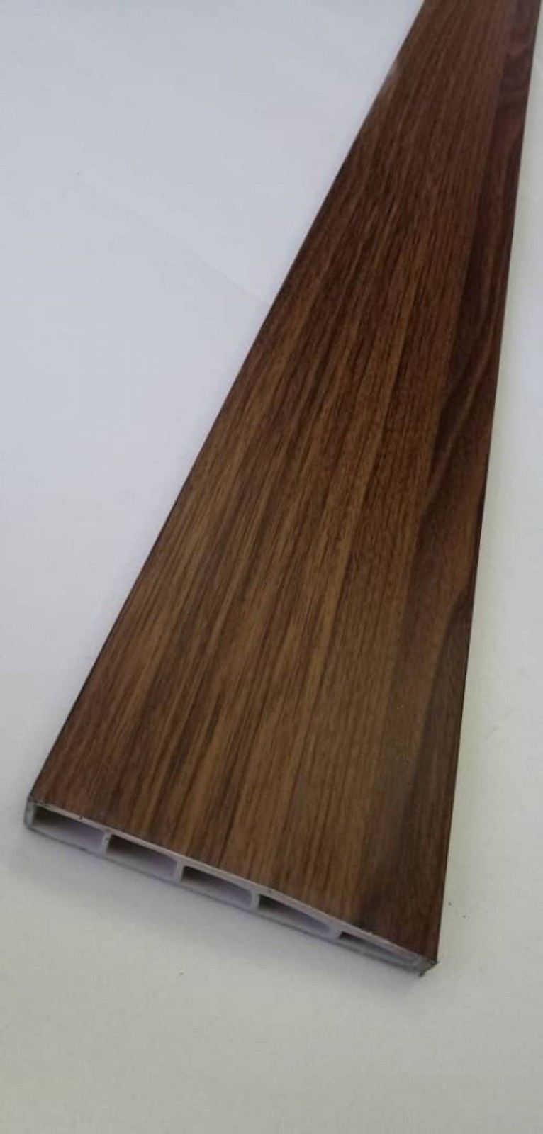 (PSK100-1003) 100mm PVC Skirting - Teak
