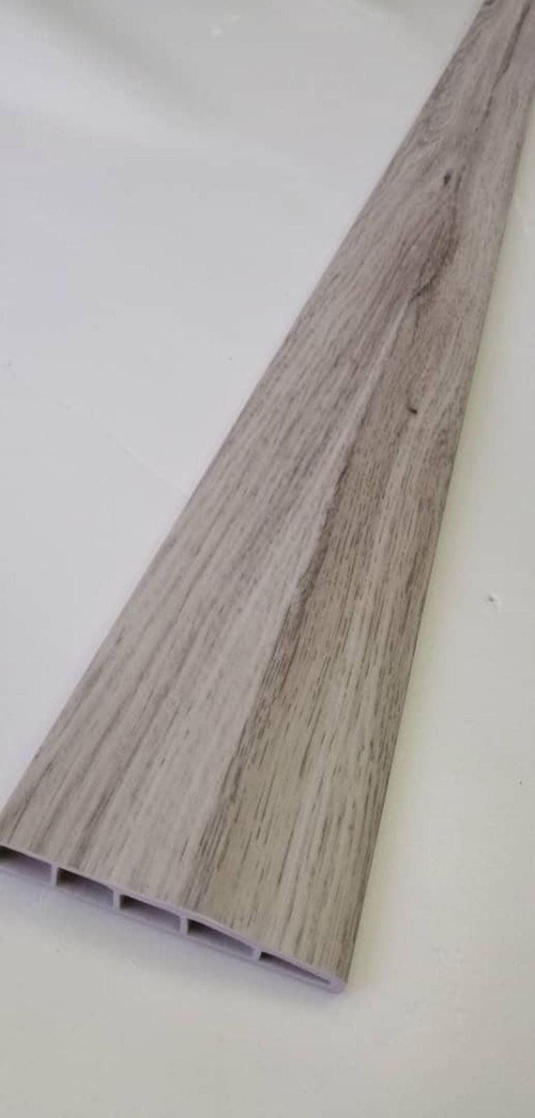 (PSK100-1007) 100mm PVC Skirting - Grey
