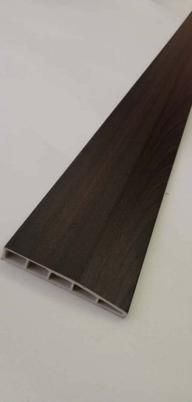 (PSK100-1033) 100mm PVC Skirting - Walnut