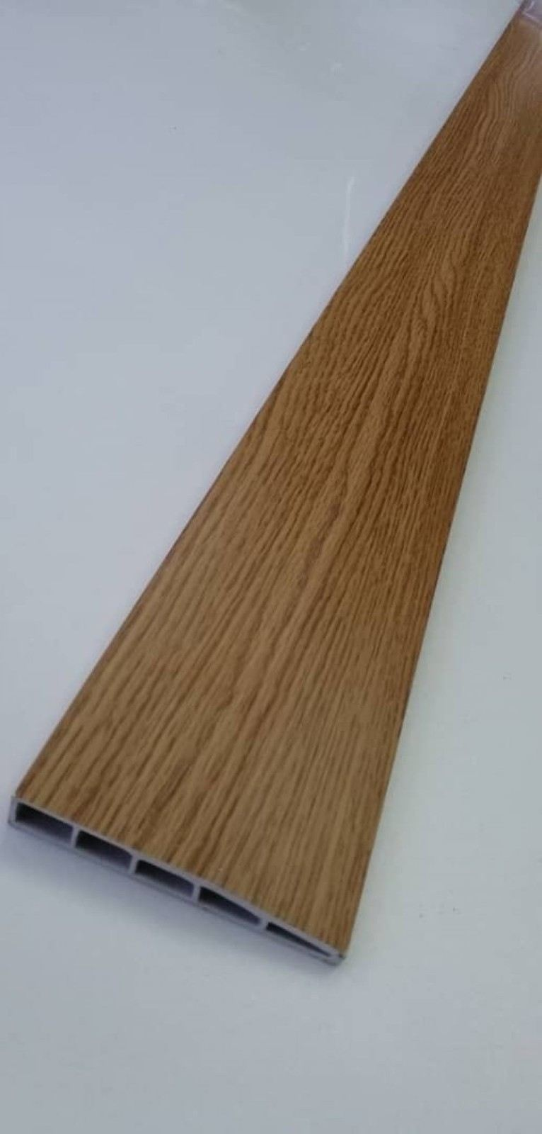 (PSK100-1011) 100mm PVC Skirting - Oak
