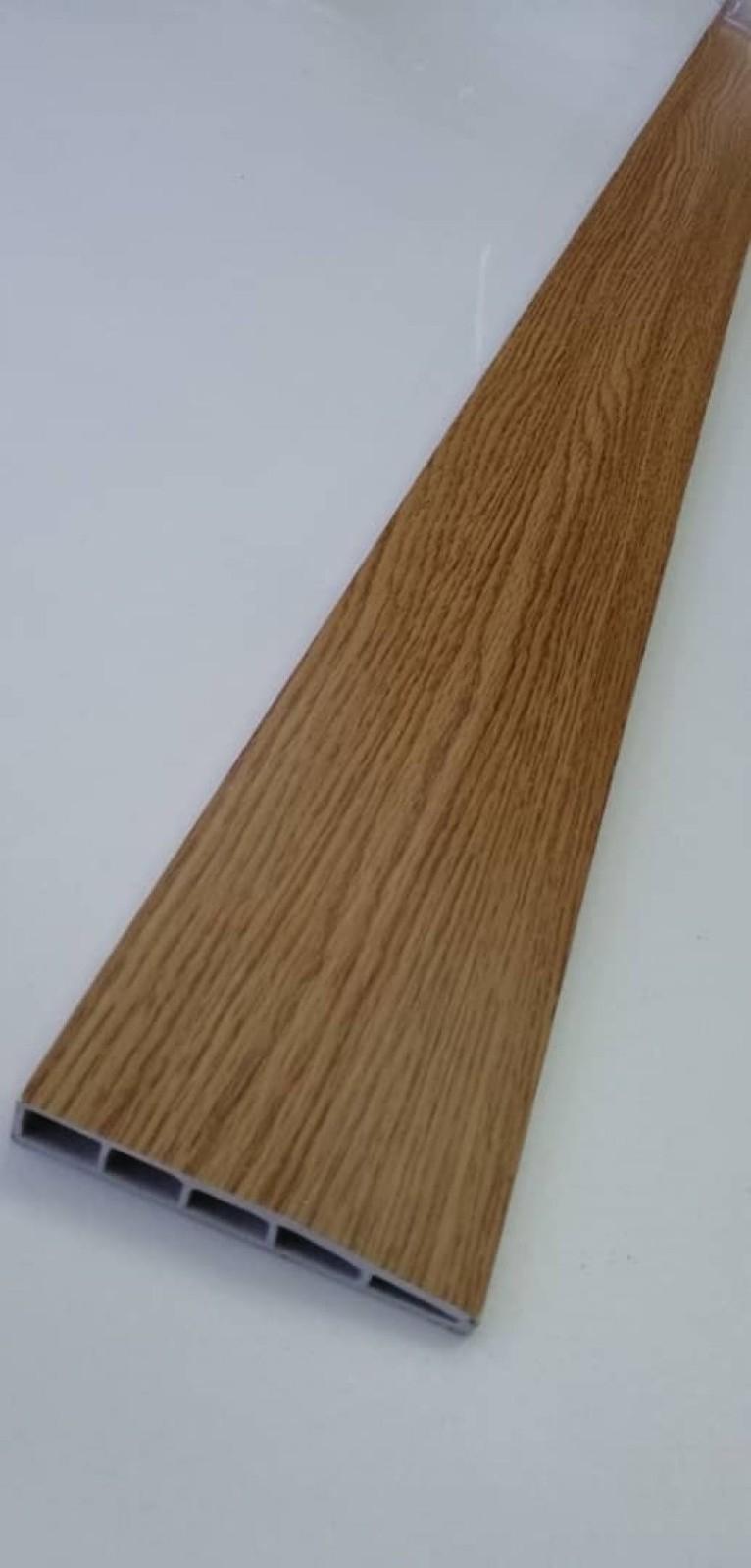 (PSK100-1011) 100mm PVC Skirting - Oak