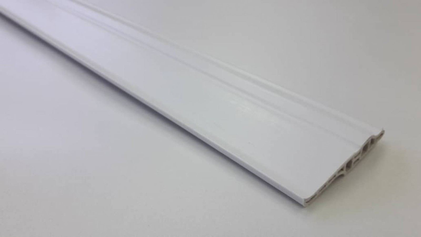 (PSK70-1012) 70mm PVC Skirting - White