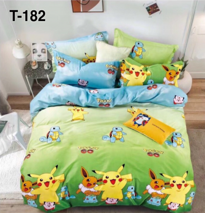 T182 King/Queen 5in1 with comforter set