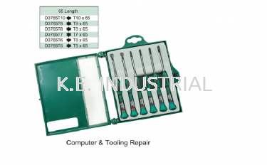 6PCS PRECISION SCREWDRIVER SET(L:65MM)