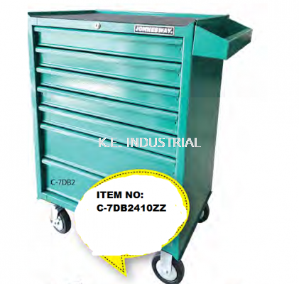 410PC 7-DRAWER TOOL TROLLEY SET