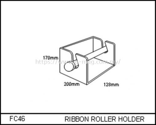 FC46 RIBBON ROLLER HOLDER
