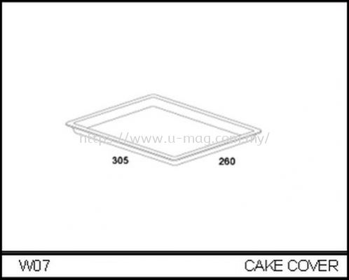 W07 CAKE COVER