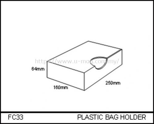 FC33 PLASTIC BAG HOLDER