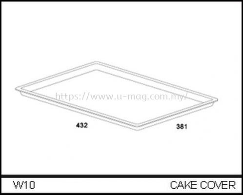 W10 CAKE COVER