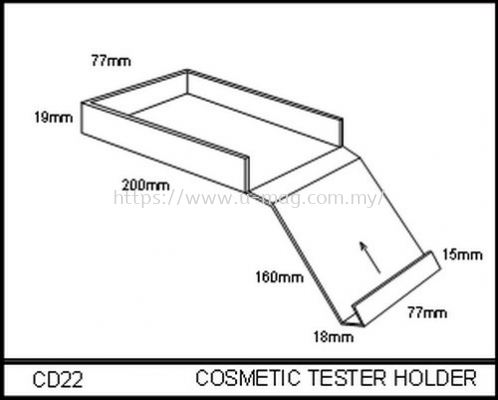 CD22 COSMETIC TESTER HOLDER