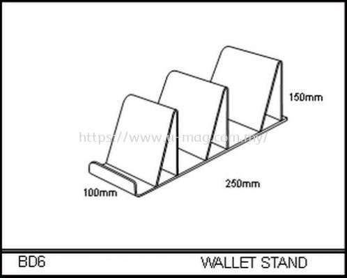 BD6 WALLET STAND