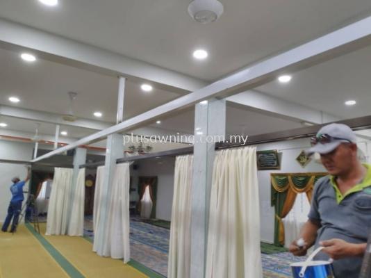 Iron Stand Support Curtain @Kajang, Selangor