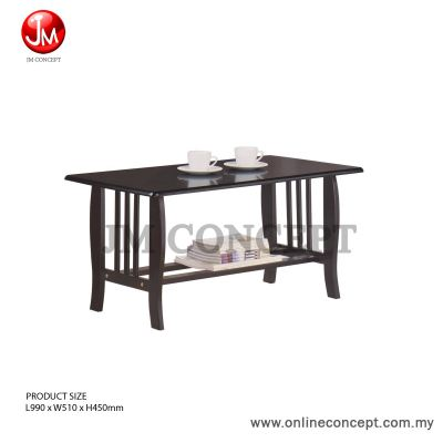 Essential Coffee Table with 3 pillar design (WENGE)