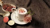 Rose Cappuccino By In Love Arissto Coffee