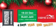 19-22 December 2019 Exhibition At Bukit Jalil (Carpark B)