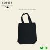 CVB 003 Black Canvas Bag 003