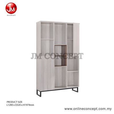 JM Concept Jarvy (L) Book Shelf / File Cabinet / Multi Function Storage