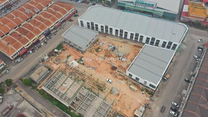 18 Units Shop Lot Roof Works at Bukit Gambir, Johor Bahru