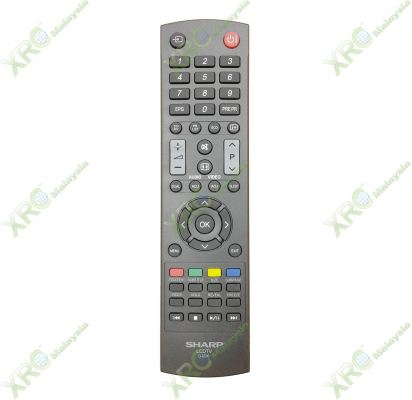 GJ-220 SHARP DIGITAL LED TV REMOTE CONTROL