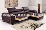7037 (3L) Leather L Shape Sofa Sofa