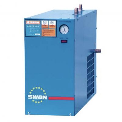Swan DE8E Refrigerated Air Dryer, 10HP, Flow Rate 1200L/min, 40kg