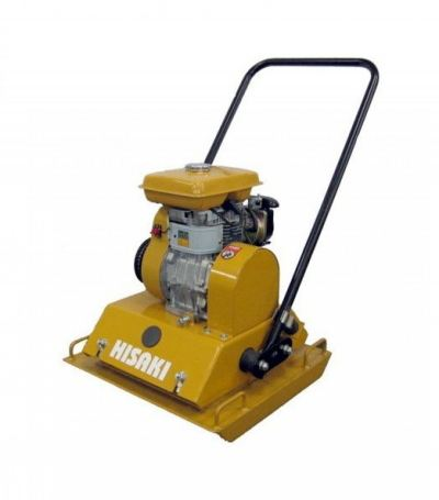 Hisaki YP80 Plate Compactor with Robin EY20 Petrol Engine 5HP