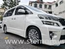 White Toyota Vellfire After Apply STE COATING For Long Last Paintwork Protection Done By STE AUTO DETAILING Team .  Toyota Completed Job STE Coating